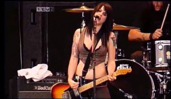 Punk ile soluklanmak: The Distillers / Reading Festival