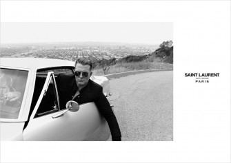 JOSH HOMME VE SAINT LAURENT