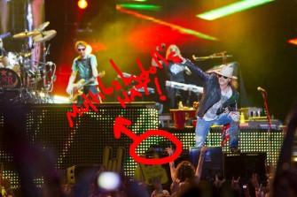 Guns N' Roses'ın sert, vahşi ve kusursuz performansı!