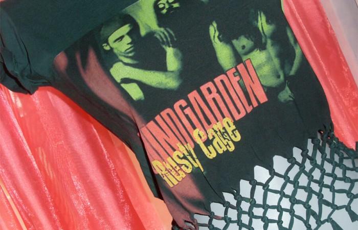 Soundgarden tişörtleri de bir başka oluyor!