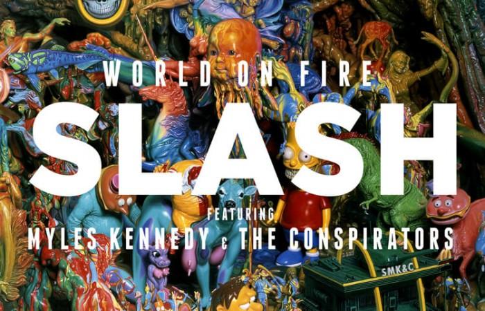 Eylül'de Slash ile burada buluşuyoruz: World On Fire