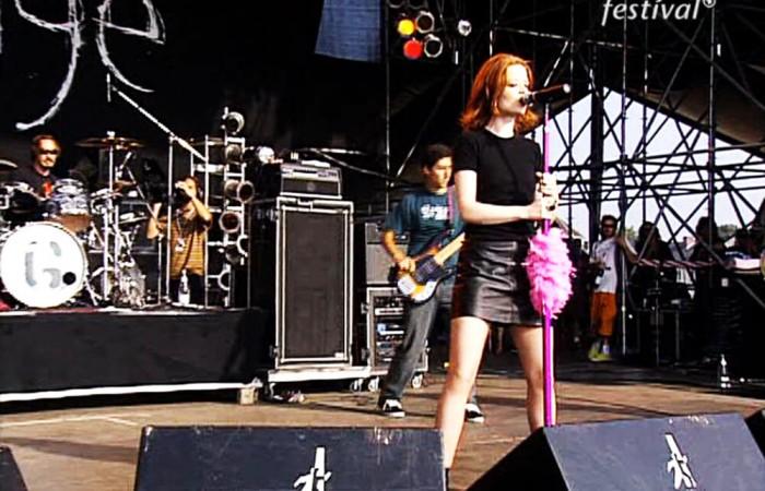Soğuk günlere inat güneşli bir konser: Garbage –  Bizarre Festival 1996